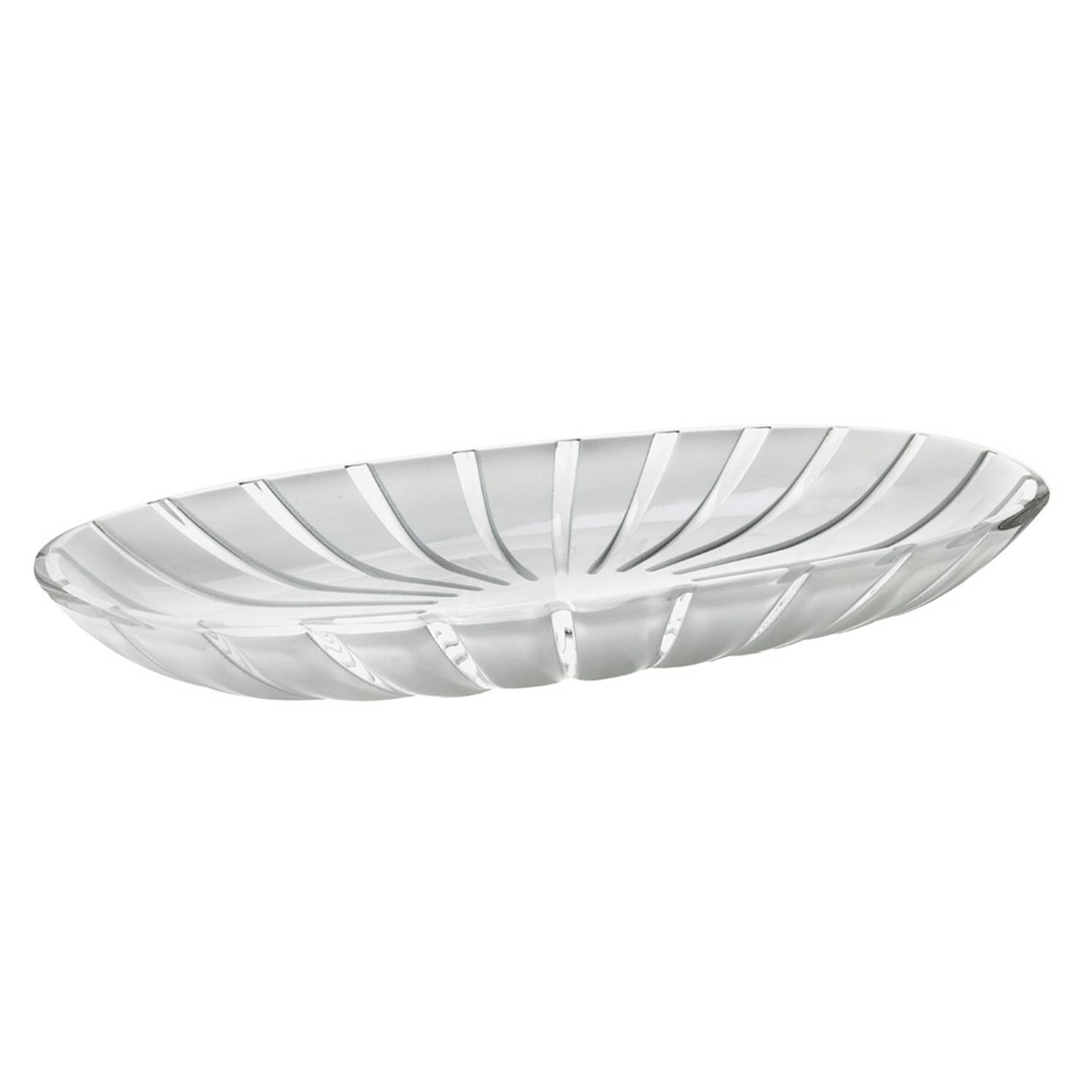 guzzini serving tray clear