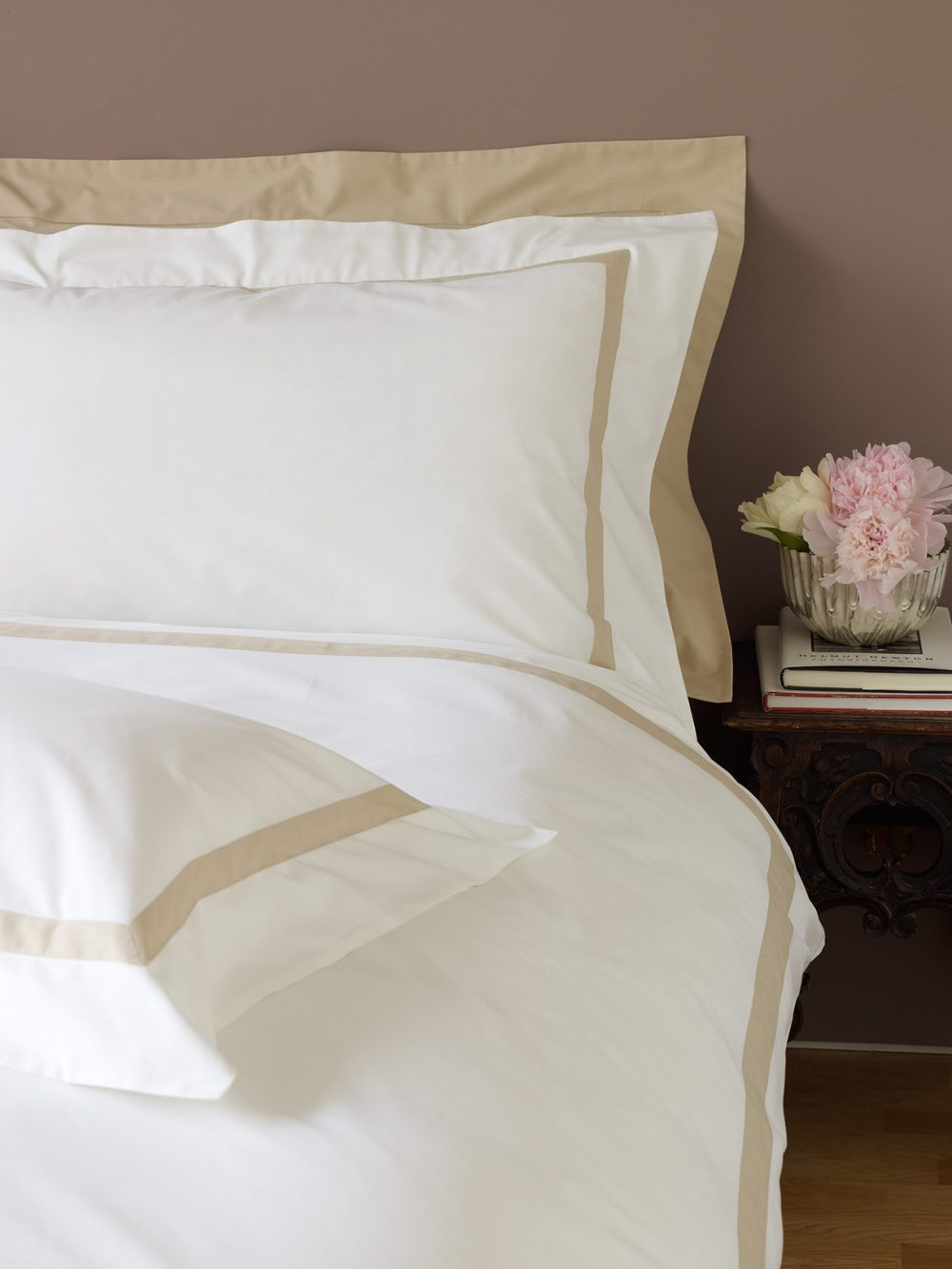 Single Shaped Duvet Cover - Milano Gold-0