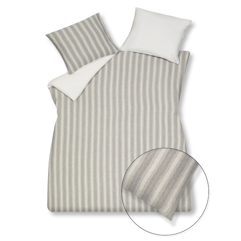 washed cotton stripe