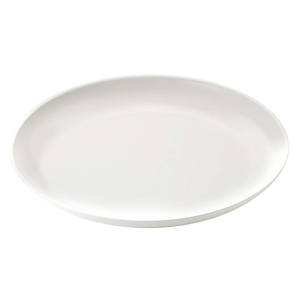 fusion dinner plate white