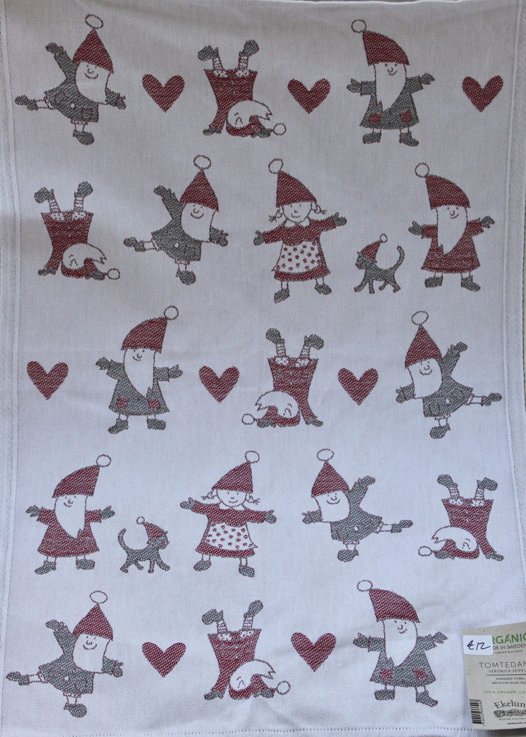Ekelund Christmas Towel